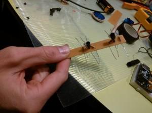 Montaje sensor siguelineas