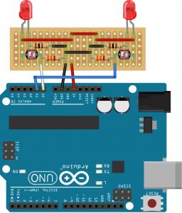 Dibujo sensor sigelíneas